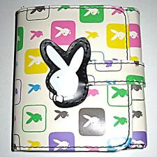 *VINTAGE*  *BUNNY*  WHITE WALLET WITH COIN PURSE/ V G C