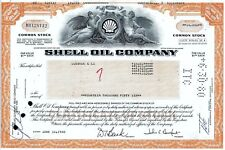 Shell Oil Company, Delaware, 1980 (14.056 Shares)
