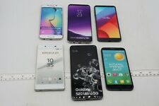 LOT OF 6 FAKE DUMMY PHONES - FOR DISPLAY, PROPS, TOYS, RETAIL ETC (LOT20)