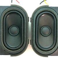 New Sanyo Smart TV FW32R19F Set Pair of Speakers JINGLI S0407F48A 8Ω 10W 88JZ