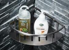 Bathroom Corner Shelf Brushed Nickel Rack Organizer Storage Shower Wall Mount