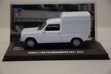 SIMCA 1100 FOURGONNETTE VF2 1975 ALTAYA 1/43 NEUF EN BOITE