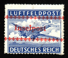 1944 Dt.Reich Field Post - Island Kreta Mi.Nr. 7 B - overprint .INSELPOST MNH
