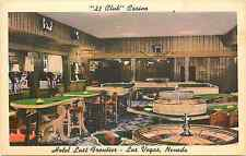 "LAS VEGAS NV HOTEL LAST FRONTIER ""21 CLUB"" CASINO TABLE GAMES/SLOTS LINEN P/C"
