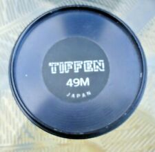 TIFFEN 49mm metal screw in front lens cap, Vintage great used condition.