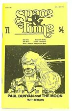 SPACE AND TIME 71 (Winter 1987)—Gordon Linzner fanzine—Kato, Kevin J. Anderson,