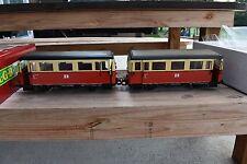 LGB 21650 Twin DR Schienenbus Streetcar Railbus Set New In the Box!!!!