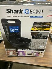 Shark IQ Robot Self-Empty Vacuum Wi-Fi Google Assistant /Alexa Enabled RV1001AE