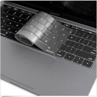 Clear/Black Protector Cover Laptop Silicone Keyboard Skin for Macbook Pro 13/15""