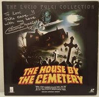 The House by the Cemetery (1981) [EC1006-LD] Laserdisc - Signed Fulci #175