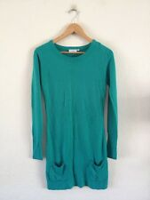 New Look Soft Acrylic Knit Dress Size 8 Jade Green <R13181