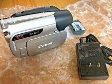 Canon ZR960 Mini DV Camcorder Manual Av Ac Cables Battery