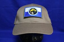Tan/Brown Ball cap with Colour FCU-6 Afghanistan Unit patch