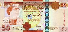 Libya P-75 50 dinars (2008) UNC