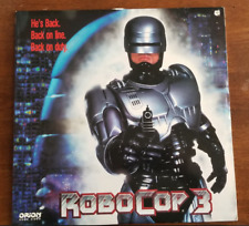 LASERDISC Movie: ROBOCOP 3 by Frank Miller - Robert Burke Rip Torn - Collectible