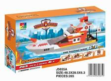 Woma High-Speed Feuerlöschschiff  5 in 1 Bausteine Set J5655A
