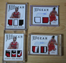 2012-13 Panini National Treasures NBA Gear  Joakim Noah AUTO PATCH Lot of 4