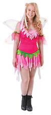 enfant rose # fleur fée costume avec ailes 12 pour 15 An