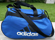 Adidas Blue Duffle Bag Tote Durable High Quality Bag Handles