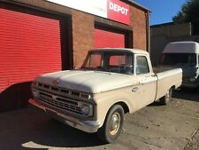Ford F100 1965 V8 352 engine with 3 speed manual gearbox American Pick Up Truck