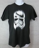 Star Wars Mens Stormtrooper T-Shirt New Black Officially Licensed Free Shipping