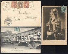 10 ITALY COVERS (INCLUDING POSTCARDS)