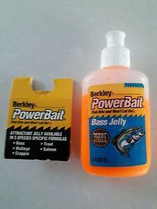 🐟🐟🐟 CLEARANCE  BERKLEY BAIT BASS ATTRACTANT JELLY  2fl oz NEW 🐟🐟🐟