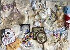 Lot Vintage Lace Doilies Embroidery Crochet Linens Cutter 4 lbs NOLA Estate TLC