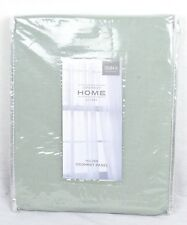 "JCPenney Home - Holden - Grommet Panel – 50"" x 84"" - 100% Cotton - Aqua Gray"
