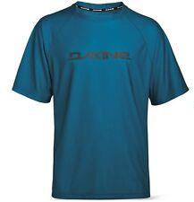 Dakine Rail Jersey Short Sleeve T Shirt Top MTB Bicycle Bike Cycle Blue Medium