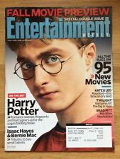 Entertainment Weekly Magazine #1007/1008 August 22/29, 2008 Harry Potter Daniel