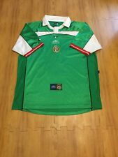 2000-01 Mexico National Soccer Team FIFA World Cup XL Atletica Futbol Jersey