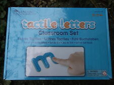 124 LETTERE tattile CLASSE SET-SCUOLA Phonics/Scrittura Minuscolo in plastica