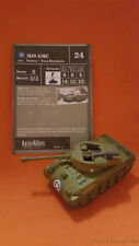 Axis & Allies 1939-1945 M18 GMC Tank Destroyer Rare 29/60 USA Vehicle High Gear