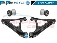FOR Q7 CAYENNE TOUAREG REAR LOWER SUSPENSION WISHBONE CONTROL ARMS + HUB BUSHES