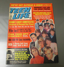 1966 TEEN LIFE Magazine v.5 #1 FVF BEATLES Batman & Robin George Harrison