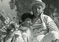 BERNARD BLIER MARIA PACOME LE DISTRAIT 1970 VINTAGE PHOTO ORIGINAL #