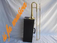 Tromba a tiro (Trombone soprano) laccata SIb a coulisse +  hard case x Jazz band