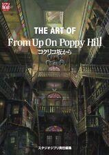 "The art of ""From Up On Poppy Hill"" illustration Art Book Studio Ghibli Kokuriko"