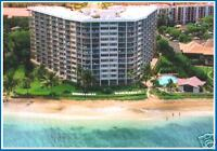Direct Oceanfront/ Beachfront Maui 1 Br Condo Summer Vacation Rental Hotel