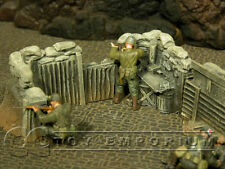 """""""RETIRED"""" Build-a-Rama 1:32 Hand Painted Trench Command Section"""