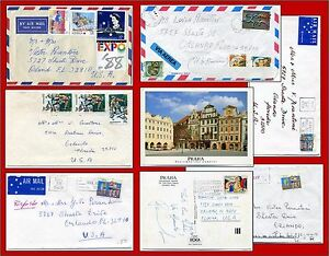 SPORTS STAMPS 7 items Australia + Italy + Czechoslovakia 9 sports + other stamps