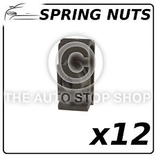 Spring Nut 6MM Plate Support Front-Back Bumper To Fit 350Z/Almera etc 12573 12PK