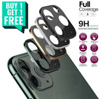 For iPhone 12 / 11 Pro Max Mini FULL COVER Tempered Glass Camera Lens Protector