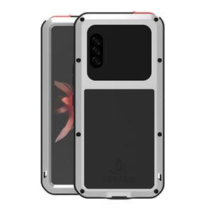 LOVEMEI Tank Armor Aluminum Non-slip Hard Cover for Sony Xperia 10 Plus /1 Ⅱ/ 5