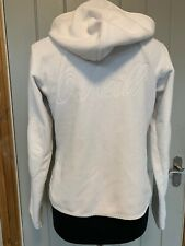 O'Neill Women's Fleece Full Zip Hoodie Hooded Jacket Size Medium Spellout