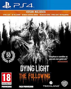 PS4-Dying Light: The Following - Enhanced Edition (Italian Box) /PS4 GAME NEW