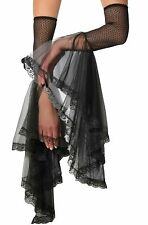 Opus Gloomy Gauntlets Gothic Black Lace Arm Warmers Women's Costume Accessory