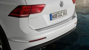 Genuine Volkswagen Tiguan Rear Bumper Loading Sill Protection Plate 2017-Current