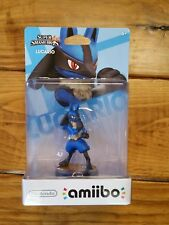 Pokemon Nintendo Amiibo Lucario Figure 2014 New Sealed Super Smash Bros